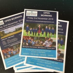 Warlingham Park School Marketing